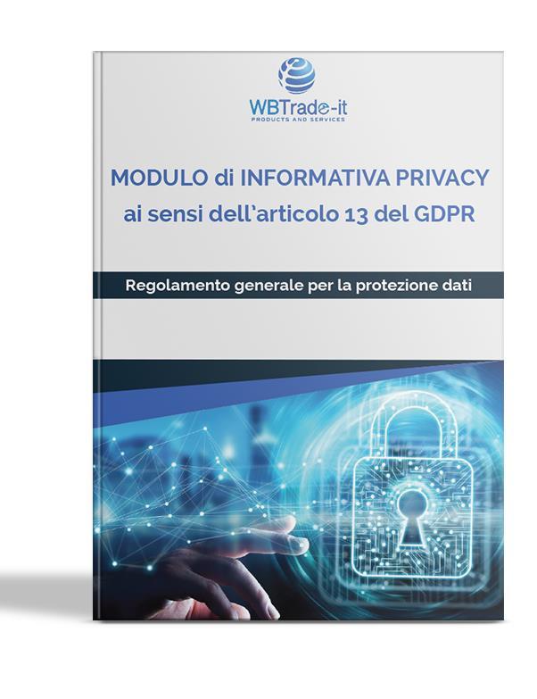 Documentazione privacy per adeguare la sua azienda al GDPR